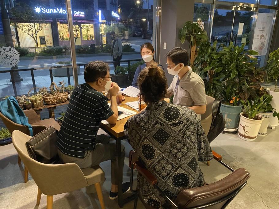 [실행그룹-삼례] '완주문화장날@삼례잇장' 추진을 위한 주민기획단 회의(9차)